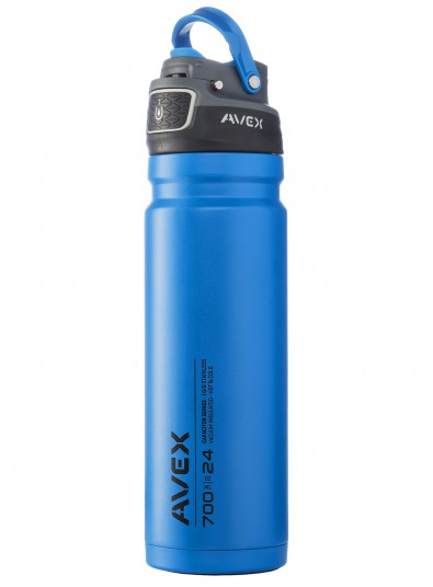 Avex 174 Avex Freeflow Autoseal Stainless Water Bottle