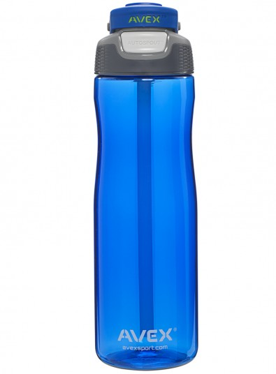Blue Wells Water Bottle
